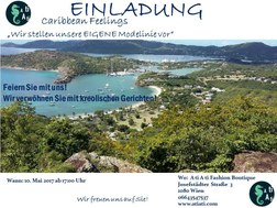 EINLADUNG CARIBBEAN FEELINGS 10.05.2017